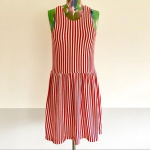 🎪 VINTAGE 80s Candy Stripe Knit Dress